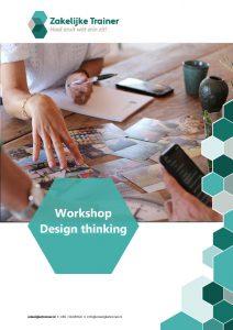Brochure Workshop Design thinking