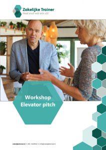Brochure Workshop Elevator pitch