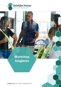 Brochure Workshop Jongleren