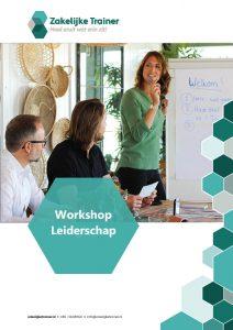 Brochure Workshop Leiderschap