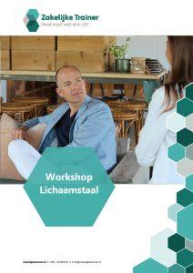 Brochure Workshop Lichaamstaal