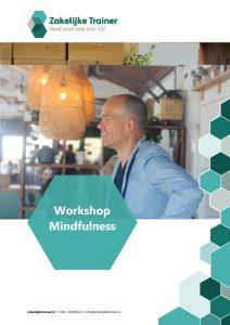 Brochure Workshop Mindfulness