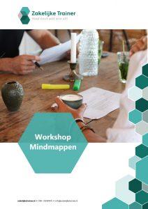 Brochure Workshop Mindmappen