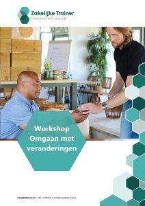 Brochure Workshop Omgaan met veranderingen