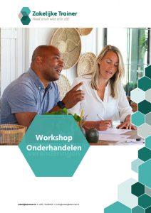 Brochure Workshop Onderhandelen