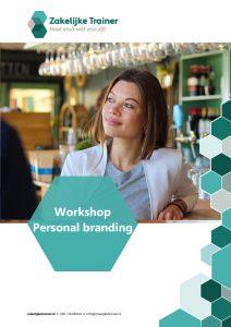 Brochure Workshop Personal branding