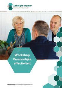 Brochure Workshop Persoonlijke effectiviteit