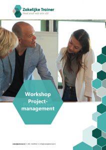 Brochure Workshop Projectmanagement