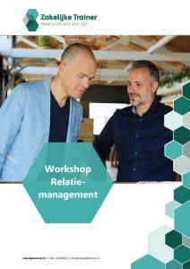 Brochure Workshop Relatiemanagement