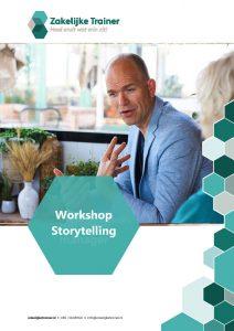 Brochure Workshop Storytelling