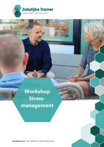 Brochure Workshop Stressmanagement