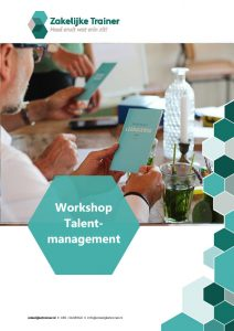 Brochure Workshop Talentmanagement