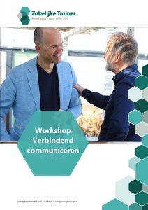 Brochure Workshop Verbindend communiceren