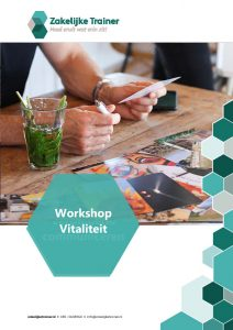 Brochure Workshop Vitaliteit