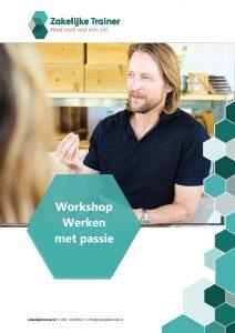 Brochure Workshop Werken met passie