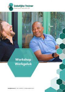 Brochure Workshop Werkgeluk