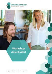 Brochure Workshop Assertiviteit