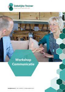 Brochure Workshop Communicatie